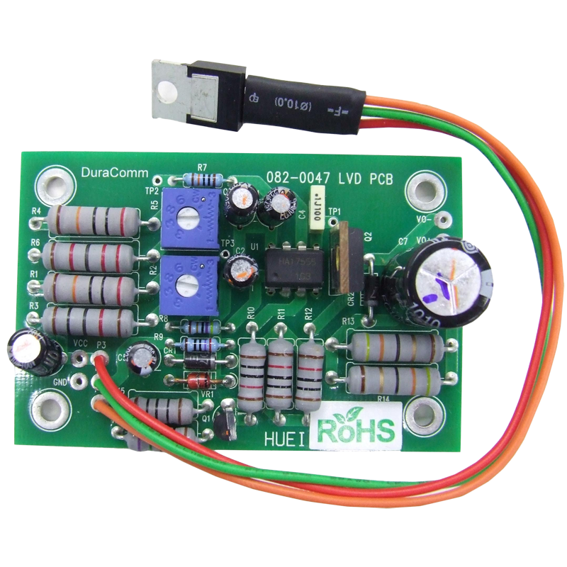 Low Voltage Quick Disconnect : Vdc low voltage disconnect board duracomm